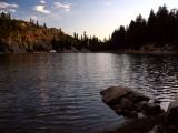 Shelly Lake sunset