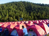 Cycle Oregon tent city