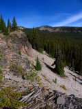 Snow Lakes trail on way to PCT