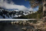 Cliff Lake frozen over again in June