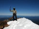 Mt McLoughlin 9495 ft summit 7-3-2010