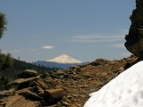 Mt Shasta from PCT to Bee Camp