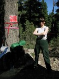USFS Adrian enforcing the PCT fire closure!!