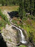 Hidden waterfall on Park Ridge