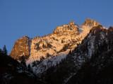 Sawtooth Peak from Morris Meadows