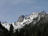Sawtooth Peak above Bear Creek Canyon