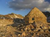 John Muir Shelter in evening light