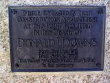 Donald Downs built the Forester Pass ledge trail, and died doing so. I passed by his memorial almost 75 years to his last day