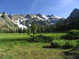 Bear Creek Valley in the morning