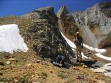 Hopkins Pass, the route from Mono Creek to McGee Lake, Pika and me