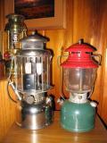 Coleman 1951 Christmas lantern