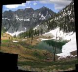 Luella Lake panorama