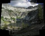 Papoose Lake panorama
