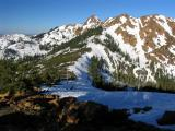 Echo Lake pass on the Pacific Crest Trail