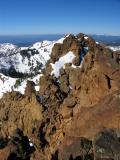 Western summit of Red Buttes twin peaks
