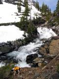 Emerald Lake outlet falls