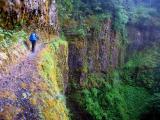 Eagle Creek ledge trail, me
