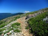 Indian Peak trail and open views