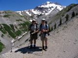 DaveS and BillS, two brothers hiking the PCT with me