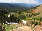 Middle Boulder Lake basin