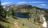 East Boulder Lake panorama