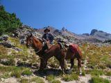 Old Horseman in the Goat Rocks wilderness