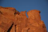 Red rocks against a cobalt sky!