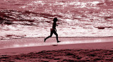 Running in the Surf