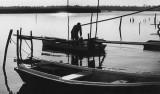 Fisherman at Sunset