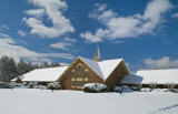 Jamestown Presbyterian Church, Jamestown, NC After Snow