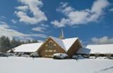 Jamestown Presbyterian In Snow