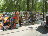 Vendors in the Park - London