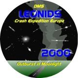 Logo Leonids 2000 design by Robert Haas