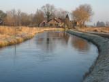 013 - Nedereindsche vaart vlakbij de afslag naar Oud-Maarsseveen: dun ijs