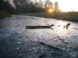 026 - Houdringe: sfeeropname vanaf het ijs