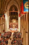Christmas Eve at the Washington National Cathedral