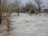 bridges flooded downtown