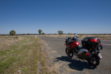 On the road to Barcaldine