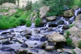 Waterfalls near Dream Lake