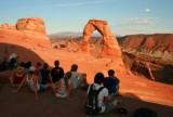 Delicate Arch at sundown