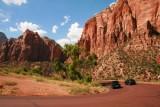 Entering Zion National Park