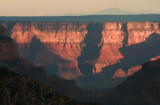 Sundown on Grand Canyon North Rim