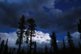 Twilight sky at Kaibab National Forest
