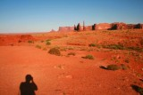 My self shadow, Monument Valley