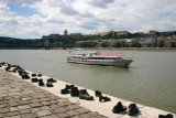 Shoes beside the River Danube, Budapest