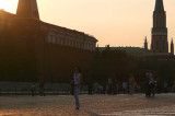Sundown in Red Square, Moscow