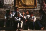 School children in Kathmandu