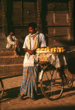 Orange seller in Baktapur