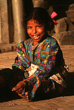 A girl in Baktapur