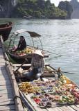 Fruit Vendors on Ha Long Bay
